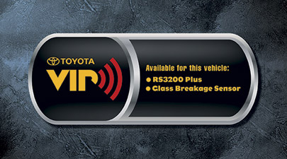 2011 Toyota Highlander Vehicle Intrusion Protection System - RS3200 GBS from A-1 Toyota