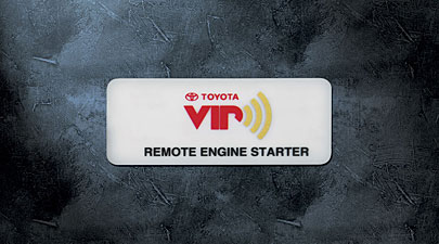 2010 Toyota Matrix Remote Engine Start from A-1 Toyota