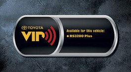 2011 Toyota Yaris Sedan Vehicle Intrusion Protection System - RS3200 Plus - with Keyless Entry from A-1 Toyota