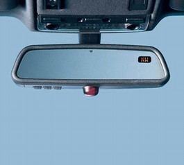 2009 Scion xB RR View Mirror-Compass-Temp 21 from A-1 Toyota