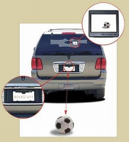 2008 Toyota Tacoma 4x2 Access Cab Universal Back-Up Camera Kit from A-1 Toyota