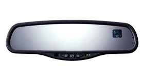 2013 Scion iQ Temperature Compass Mirror from A-1 Toyota