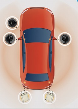 2012 Toyota Prius Plug-in Hybrid Blind Spot Detection - Radar Based - 2 Parking Sensors from A-1 Toyota