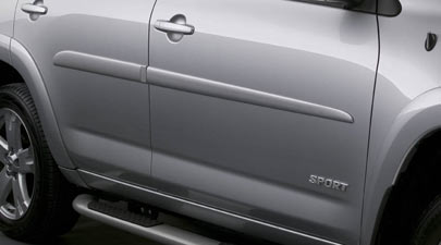 2012 Toyota RAV4 Body Side Molding from A-1 Toyota