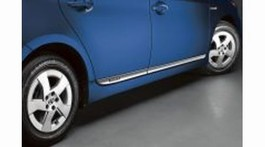 2011 Toyota Prius Lower Door Moldings - Semi Chrome from A-1 Toyota