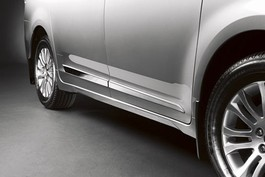 2011 Toyota Sienna Body Side Molding - Semi Chrome from A-1 Toyota