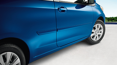 2013 Toyota Yaris 5-Door Body Side Molding from A-1 Toyota