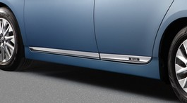 2012 Toyota Prius Plug-in Hybrid Lower Door Molding - 4 Pieces - Velour from A-1 Toyota