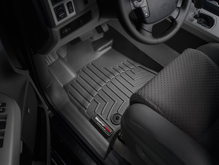 2014 Toyota Tundra CrewMax Floor Liner - 1Row - Black from A-1 Toyota