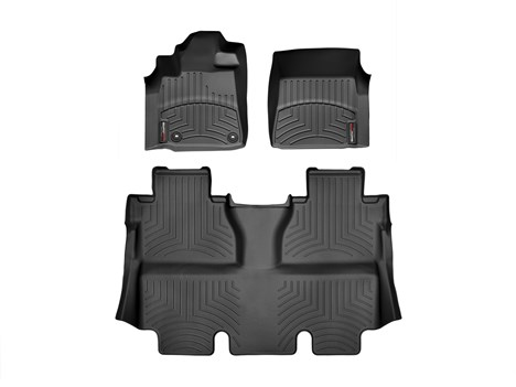 2014 Toyota Tundra CrewMax Floor Liner - 1-2Row - Black from A-1 Toyota