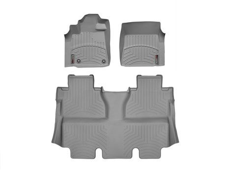 2014 Toyota Tundra CrewMax Floor Liner - 1-2Row - Grey from A-1 Toyota