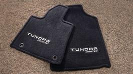 2014 Toyota Tundra CrewMax Carpet Floor Mats - Platinum Logo from A-1 Toyota