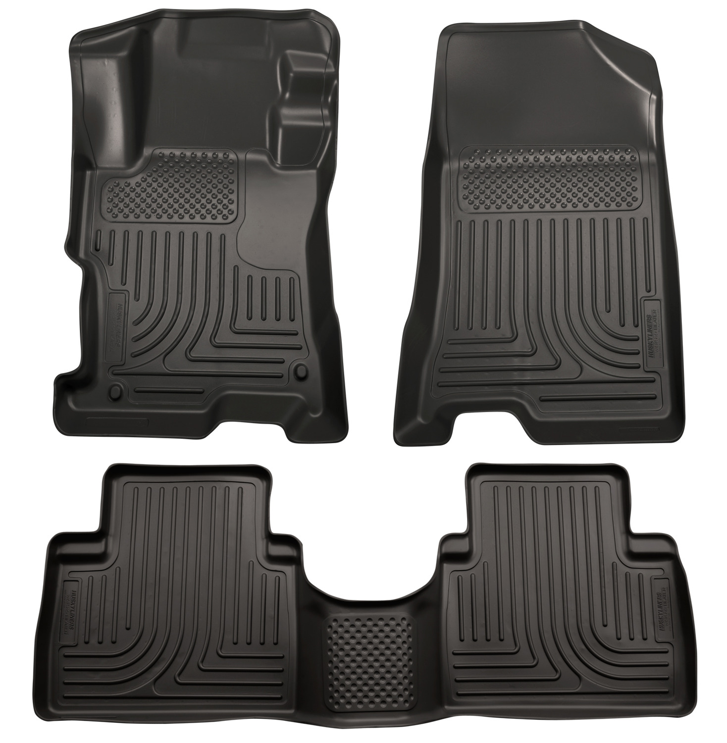 Rubber floor mats kia sorento - 2015 Kia Sorento Weatherbeater Floor Liner 1 2row Footwell Coverage Black