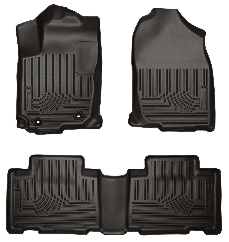 Floor mats rav4 - 2015 Toyota Rav4 Floor Liner 1 2row Foot Well Storage Black From