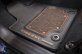 2014 Toyota Tundra CrewMax All Weather Floor Mat - Crew Cab - 3 Pieces - Black from A-1 Toyota
