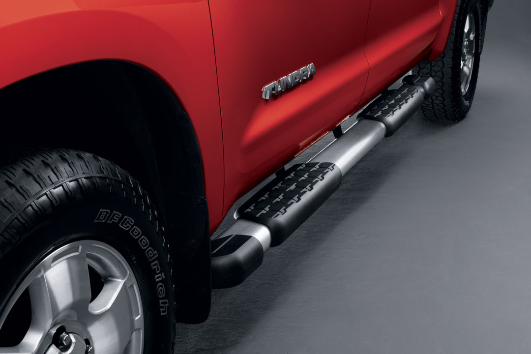 2013 Toyota Tundra Double Cab Step Board - Double Cab - Brushed Stainless from A-1 Toyota